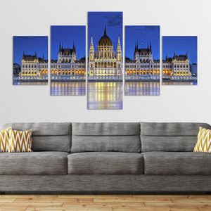 Budapest Parlament vászonkép